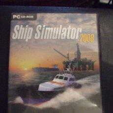 Videojuegos y Consolas: SHIP SIMULATOR 2008 - STEP 2007 - SIMULADOR - COMPLETO Y EN CASTELLANO. Lote 127822543