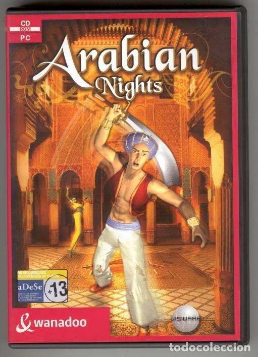 Arabian Nights Juego Epoca Windows 98 Me Comprar Videojuegos Pc
