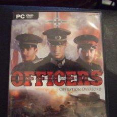 Videojuegos y Consolas: OFFICERS WORLD WAR II OPERATION OVERLORD - GFI - ESTRATEGIA - COMPLETO Y EN CASTELLANO. Lote 127867011