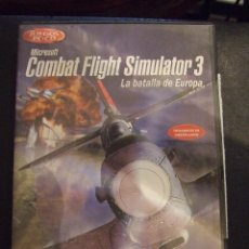 Videojuegos y Consolas: COMBAT FLIGHT SIMULATOR 3 - MICROSOFT - SIMULADOR - COMPLETO Y EN CASTELLANO. Lote 127867603