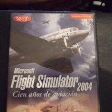 Videojuegos y Consolas: FLIGHT SIMULATOR 2004 100 AÑOS DE AVIACION - MICROSOFT - SIMULADOR - COMPLETO Y EN CASTELLANO. Lote 127867779