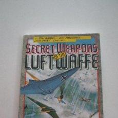 Videojuegos y Consolas: SECRET WEAPONS OF THE LUFTWAFFE - LUCASFILM GAMES 1990S // MANUAL DE JUEGO EN ESPAÑOL. Lote 128324199