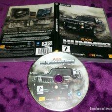 Videojuegos y Consolas: JUEGO PC DVD ROM HUMMER 4X4 AUTOMOVIL RACING . Lote 128358287