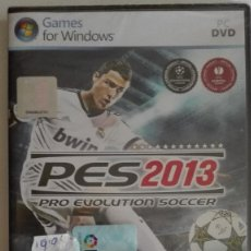 Videojuegos y Consolas: BASE PES2013 PES 2013 PRO EVOLUTION SOCCER PC DVD FOR WINDOWS NUEVO PRECINTADO. Lote 128466059