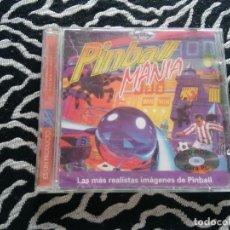 Videojuegos y Consolas: ANTIGUO PC CD-ROM PINBALL MANÍA - SOFTKEY (AÑO 1997). Lote 128778751