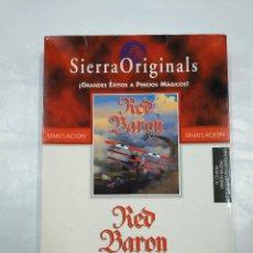 Videojuegos y Consolas: RED BARON. SIERRA. VIDEOJUEGO. PC CD-ROM. TDKV5. Lote 128981543