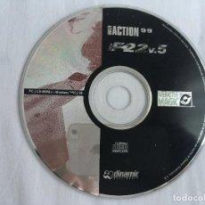 Videojogos e Consolas: F-22 V MULTI ACTION 99 CD KREATEN JUEGO PC. Lote 129479295