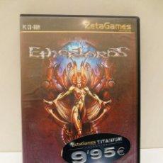 Videojuegos y Consolas: JUEGO PC - ETHERLORDS - EDICION ESPAÑOLA - COMPLETO. Lote 129543131