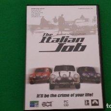 Videojuegos y Consolas: JUEGO PC – THE ITALIAN JOB. Lote 129593311