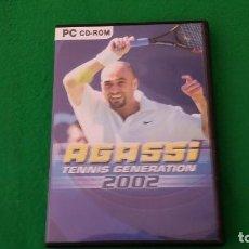 Videojuegos y Consolas: JUEGO PC – AGASSI – TENNIS GENERATION 2002. Lote 129680675