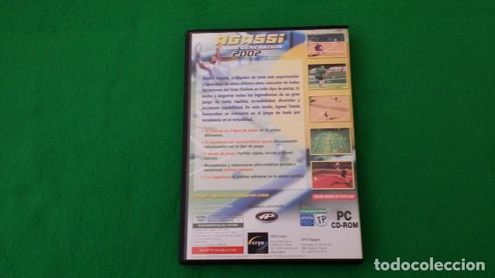Videojuegos y Consolas: Juego PC – Agassi – Tennis Generation 2002 - Foto 2 - 129680675