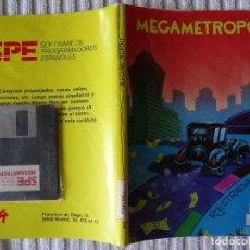 Videojuegos y Consolas - JUEGO PARA PC IBM 5 1/4 5,25 - Megametropoli PC1512/IBM PC - 130112383