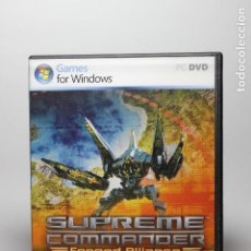 Videojuegos y Consolas: SUPREME COMMANDER - FORGED ALLIANCE - PC. Lote 56054765