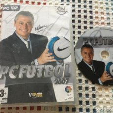 Videojuegos y Consolas: PC FUTBOL 2007 ON GAMES LFP V LIMA SYSTEM PC DVD ROM KREATEN. Lote 130209507