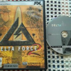 Videojuegos y Consolas: DELTA FORCE 2 FX PC CD ROM KREATEN. Lote 130209615