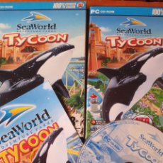 Videojuegos y Consolas: SEAWORLD ADVENTURE PARKS TYCOON (PC DVD-ROM). Lote 130490474