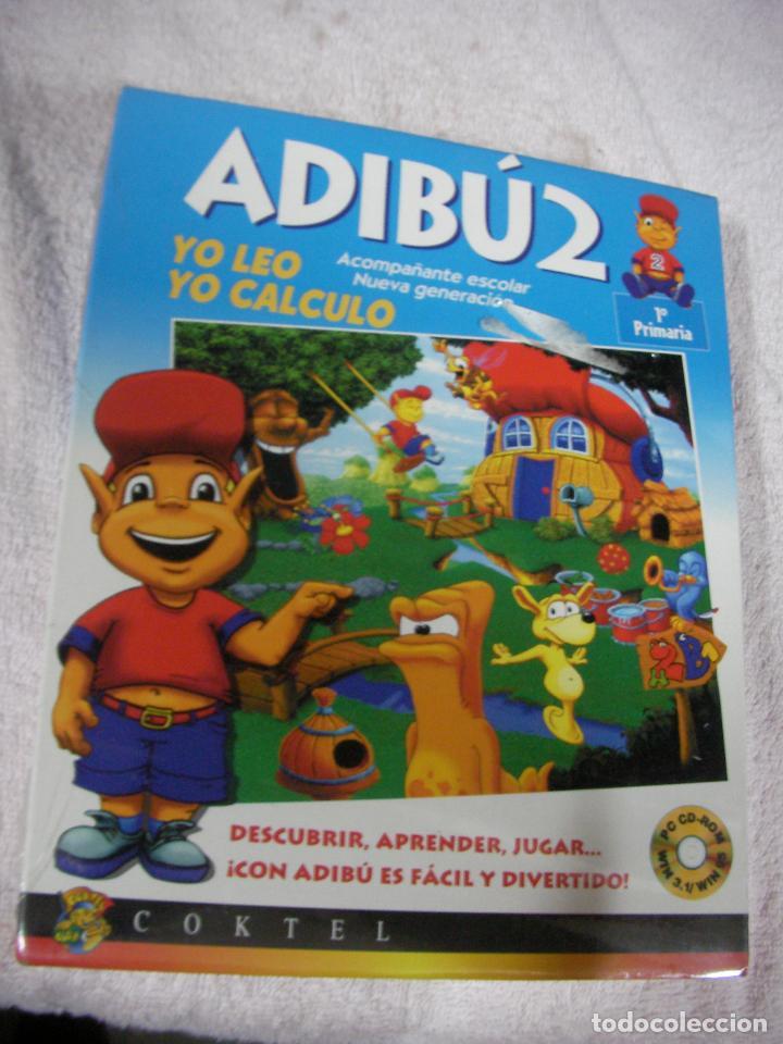 ANTIGUO JUEGO - ADIBU2 - PRIMARIA - NUEVO PRECINTADO (Juguetes - Videojuegos y Consolas - PC)