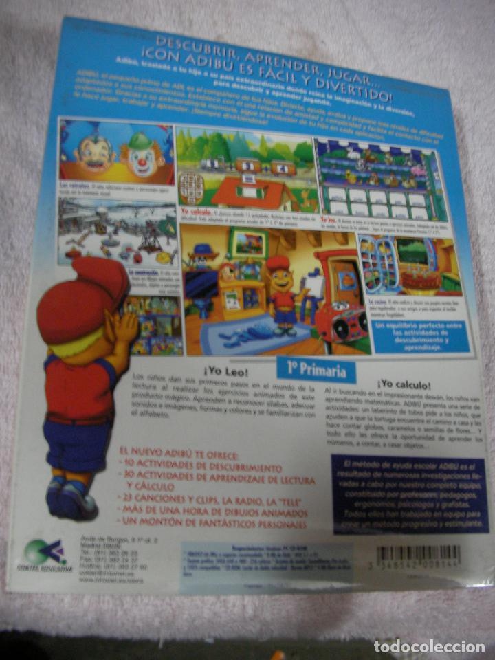 Videojuegos y Consolas: ANTIGUO JUEGO - ADIBU2 - PRIMARIA - NUEVO PRECINTADO - Foto 2 - 130623910