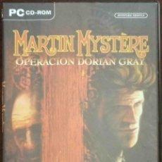 Videojuegos y Consolas: PC: MARTIN MYSTERE - JUEGO COMPLETO PARA PC CD-ROM. Lote 131070440