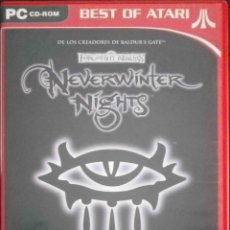 Videojuegos y Consolas: PC: NEVERWINTER NIGHTS - ROL TIPO DUNGEONS & DRAGONS - 3 DISCOS. Lote 131070936