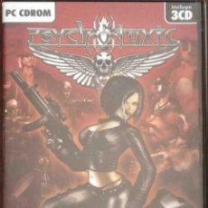 Videojuegos y Consolas: PC: PSYCHOTOXIC - INCLUYE 3CD.. Lote 131071068