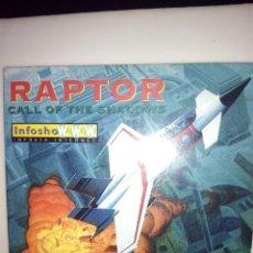 Videojuegos y Consolas: JUEGO PC. RAPTOR. CAALL OF THE SHADOW. Lote 131384078