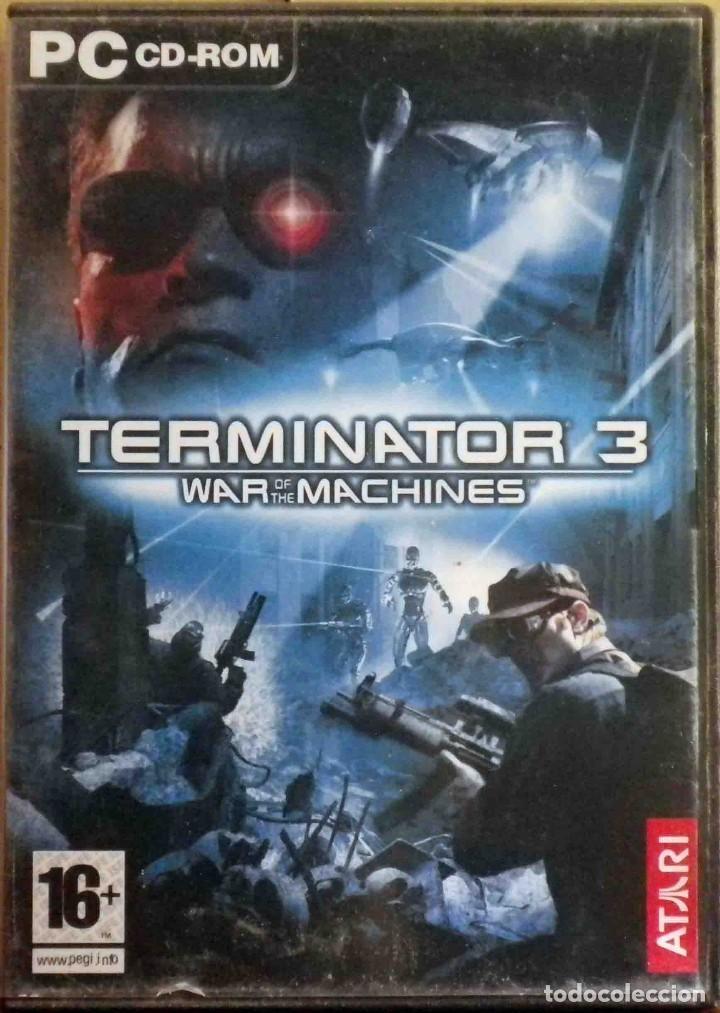 PC: Terminator 3 - War of the machines - PC Game in english segunda mano