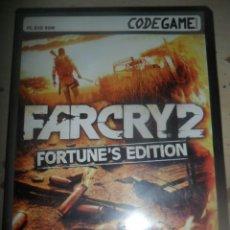 Videojuegos y Consolas: PC - DVDROM - FARCRY 2 FORTUNE'S EDITION - TOTALMENTE EN CASTELLANO -UBISOFT. Lote 131907798