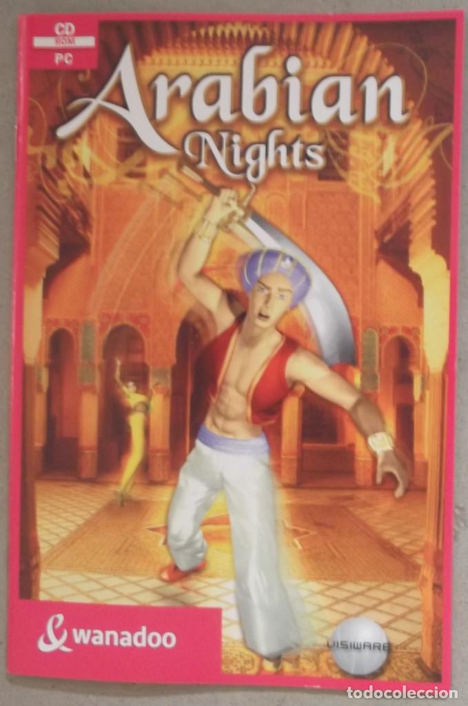 MANUAL JUEGO USUARIO ARABIAN NIGHTS WANADOO VISIWARE, usado segunda mano