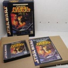 Videojuegos y Consolas: JUEGO PC, CD-ROM, STAR WARS, REBEL ASSAULT I & II, LUCASARTS, CAJA GRANDE CARTÓN, CASTELLANO. Lote 254282265