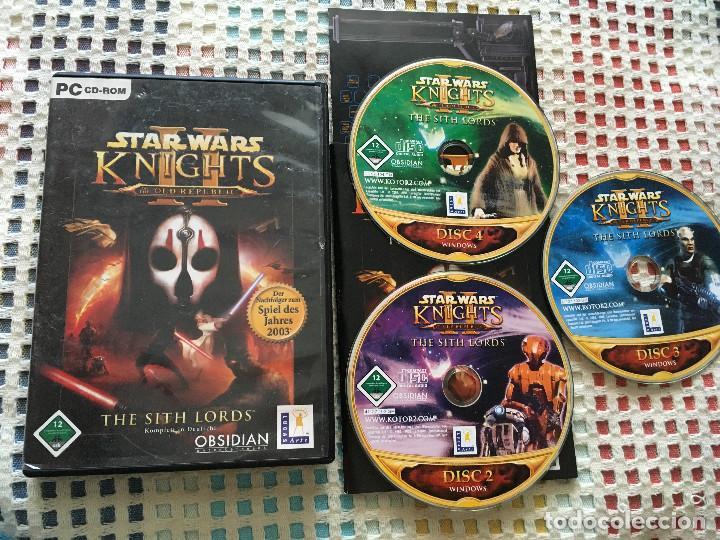 Star Wars Knights of the Old Republic II - Sith Lords Komlett in Deutsh! pc  cd rom