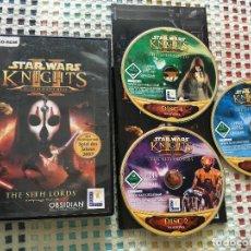 Videojuegos y Consolas: STAR WARS KNIGHTS OF THE OLD REPUBLIC II - SITH LORDS KOMLETT IN DEUTSH! PC CD ROM. Lote 152778816