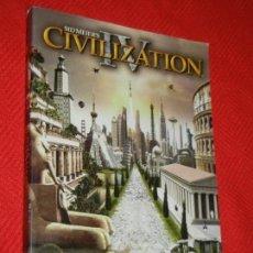 Videojuegos y Consolas: CIVILIZATION IV. LIBRO DE INSTRUCCIONES. Lote 132659194