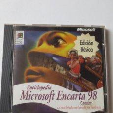 Videojuegos y Consolas: MICROSOFT ENCARTA 98 (E. BASICA) (PC CD-ROM). Lote 132729958