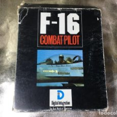 Videojuegos y Consolas: F-16 COMBAT PILOT - JUEGO DE IBM PC. Lote 132780106