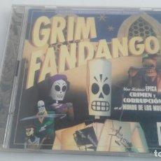 Videojuegos y Consolas: JUEGO PARA PC GRIM FANDANGO. Lote 132992234