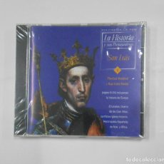 Videojuegos y Consolas: LA HISTORIA Y SUS PROTAGONISTAS Nº 5. SAN LUIS. CD-ROM MULTIMEDIA. NUEVO. TDKV21. Lote 133062542