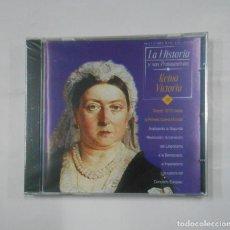 Videojuegos y Consolas: LA HISTORIA Y SUS PROTAGONISTAS Nº 10. REINA VICTORIA. CD-ROM MULTIMEDIA. NUEVO. TDKV21. Lote 133062598