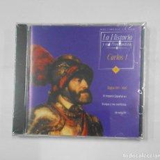 Videojuegos y Consolas: LA HISTORIA Y SUS PROTAGONISTAS Nº 7. CARLOS I. CD-ROM MULTIMEDIA. NUEVO. TDKV21. Lote 133062622