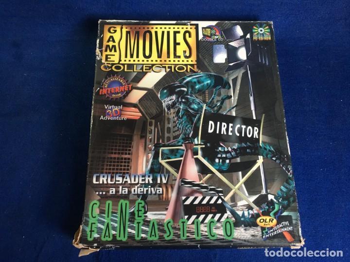 JUEGO PC CRUSADER IV A LA DERIVA - CINE FANTASTICO - (Juguetes - Videojuegos y Consolas - PC)