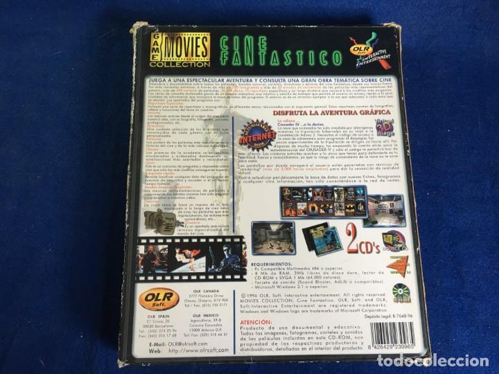 Videojuegos y Consolas: JUEGO PC CRUSADER IV A LA DERIVA - CINE FANTASTICO - - Foto 2 - 133165526