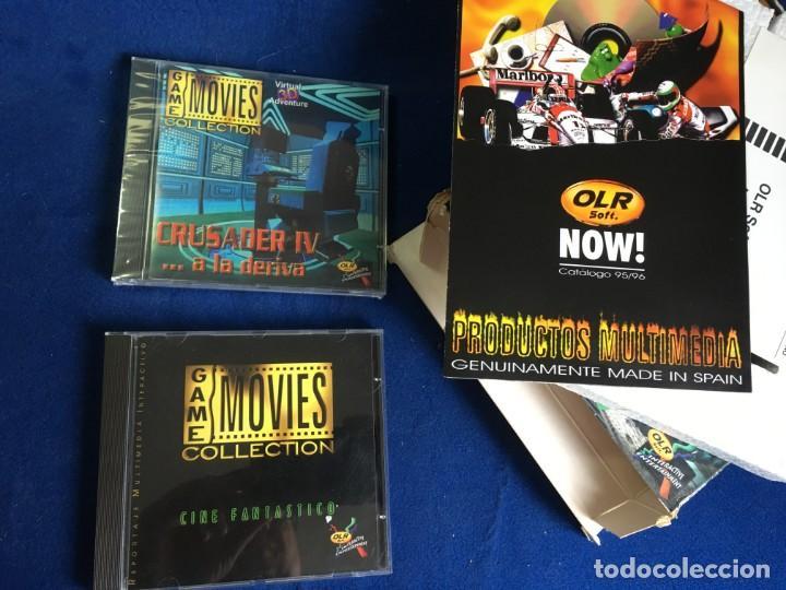 Videojuegos y Consolas: JUEGO PC CRUSADER IV A LA DERIVA - CINE FANTASTICO - - Foto 5 - 133165526