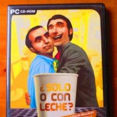 Videojuegos y Consolas: SOLO O CON LECHE (PC CD-ROM). Lote 133298718