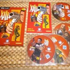 Videojuegos y Consolas: JUEGO PC - XIII CAJA DE CARTON COLECCIONISTA - EDICION ESPAÑOLA - COMPLETO. Lote 133380218