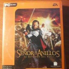 Videojuegos y Consolas: JUEGO PC EL SELOR DE LOS ANILLOS. EL RETORNO DEL REY. Lote 133446950