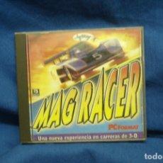 Videojuegos y Consolas: PC CD-ROM: MAG RACER - JUEGO COMPLETO - 1997. Lote 133860662