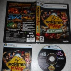 Videojuegos y Consolas: PC MONSTER MADNESS BATTLE FOR SUBURBIA PAL ESP COMPLETO. Lote 134015634