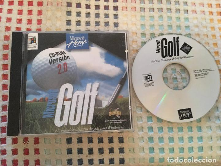 Microsoft Home Golf Cd Rom Version 2 0 Windows Comprar Videojuegos