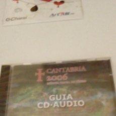 Videojuegos y Consolas: G-HPX23 PC CD ROM CANTABRIA 2006 GUIA CD AUDIO NUEVO PRECINTADO. Lote 134129794