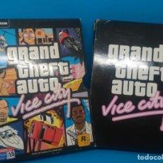 Videojuegos y Consolas: LOTE JUEGO PC GRAND THEFT AUTO VICE CITY FX EMERGENCY TRIALS SIMS. Lote 134197938